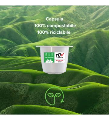 10 CAPSULE COMPATIBILI NESPRESSO®* - 5,5g - MOKACCINO